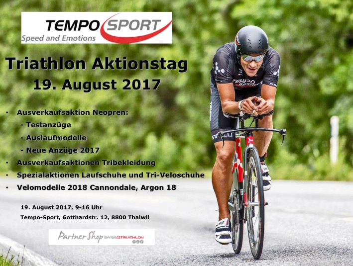 Triathlon Aktionstag Thalwil