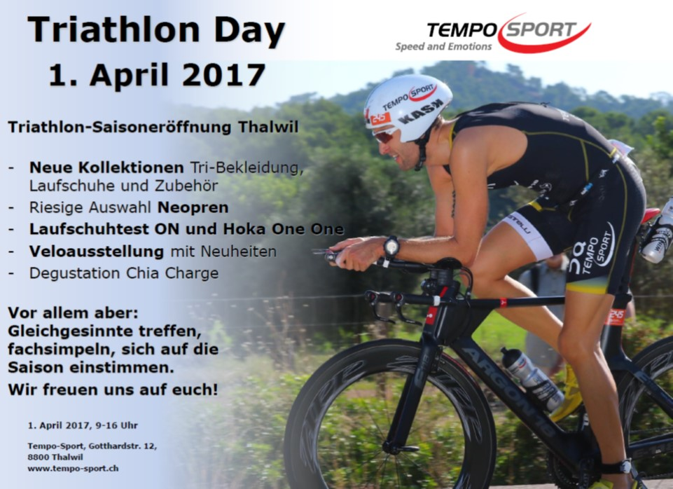 Triathlon Day Thalwil 1. April 2017